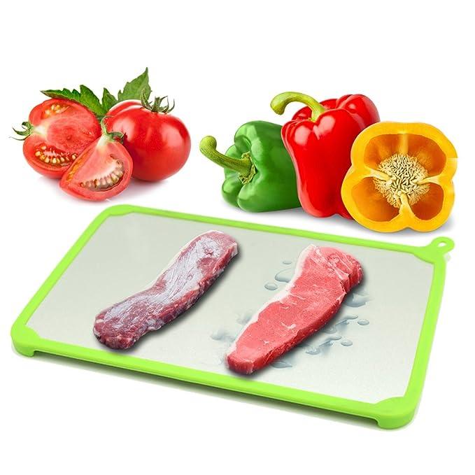 Joyoldelf - Placa descongelante, herramientas para cocina, rápido ...