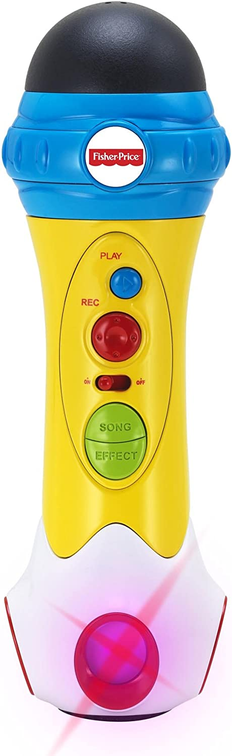 Fisher-Price Music - Microphone/Karaoke - Music Rappin' Recording Microphone