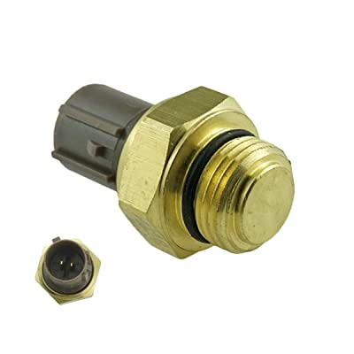 37760-P00-003 Coolant Temperature Sensor Switch For 1992 1993 1994 1995 1996 1997 1998 1999 2000 2001 2002 2003 2004 2005 2006 Honda & Acura Radiator Fan Switch 37760-P00-004 TS295: Automotive
