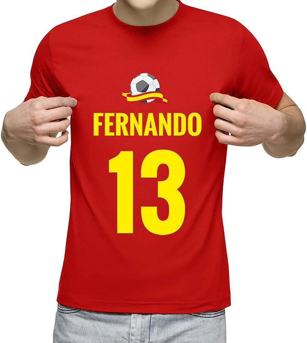 Camiseta Personalizada con Nombre y número para animar a la ...