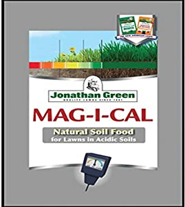 Jonathan Green Fertilizer, 1000 sq. ft. Jonathan Green & Sons, 11348 Mag-I-Cal Coverage Pelletized Calcium Fer, 1,000, Yellow