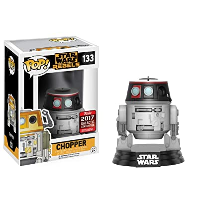 Pop Funko Star Wars Rebels Chopper #133 (2020 Star Wars Galactic Convention Exclusive): Video Games