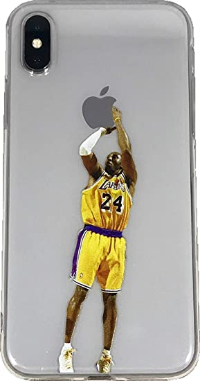 90272d11461cc Soft TPU Basketball Case with Your Favorite Past and Present Players  (Bryant Jumper, iPhone X)