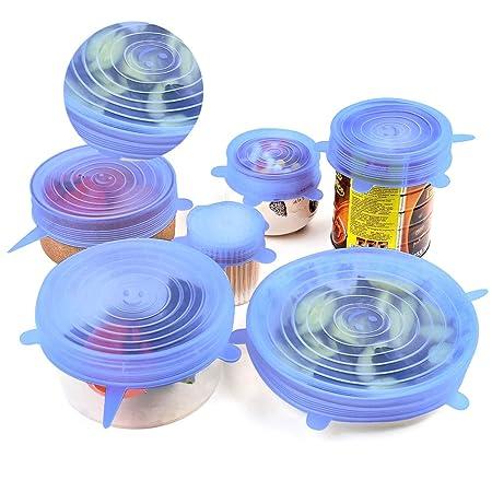 CarittiM - Tapa de Silicona Reutilizable para ollas y hornos ...