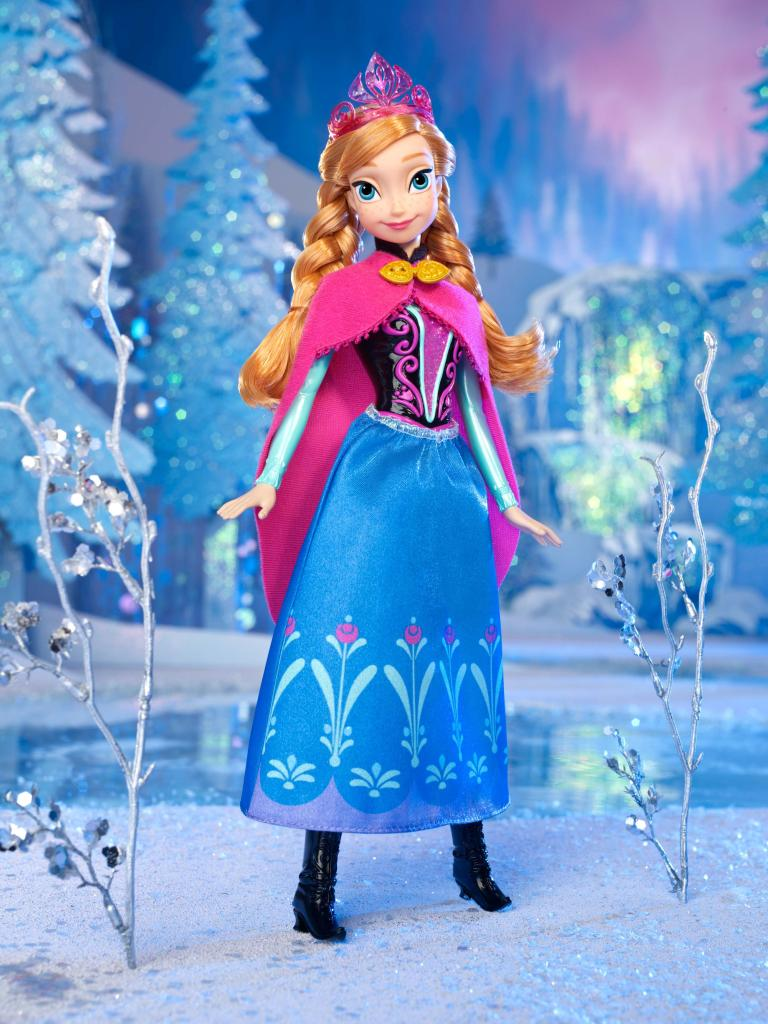 Disney frozen sparkle anna of arendelle doll - Princesse frozen ...