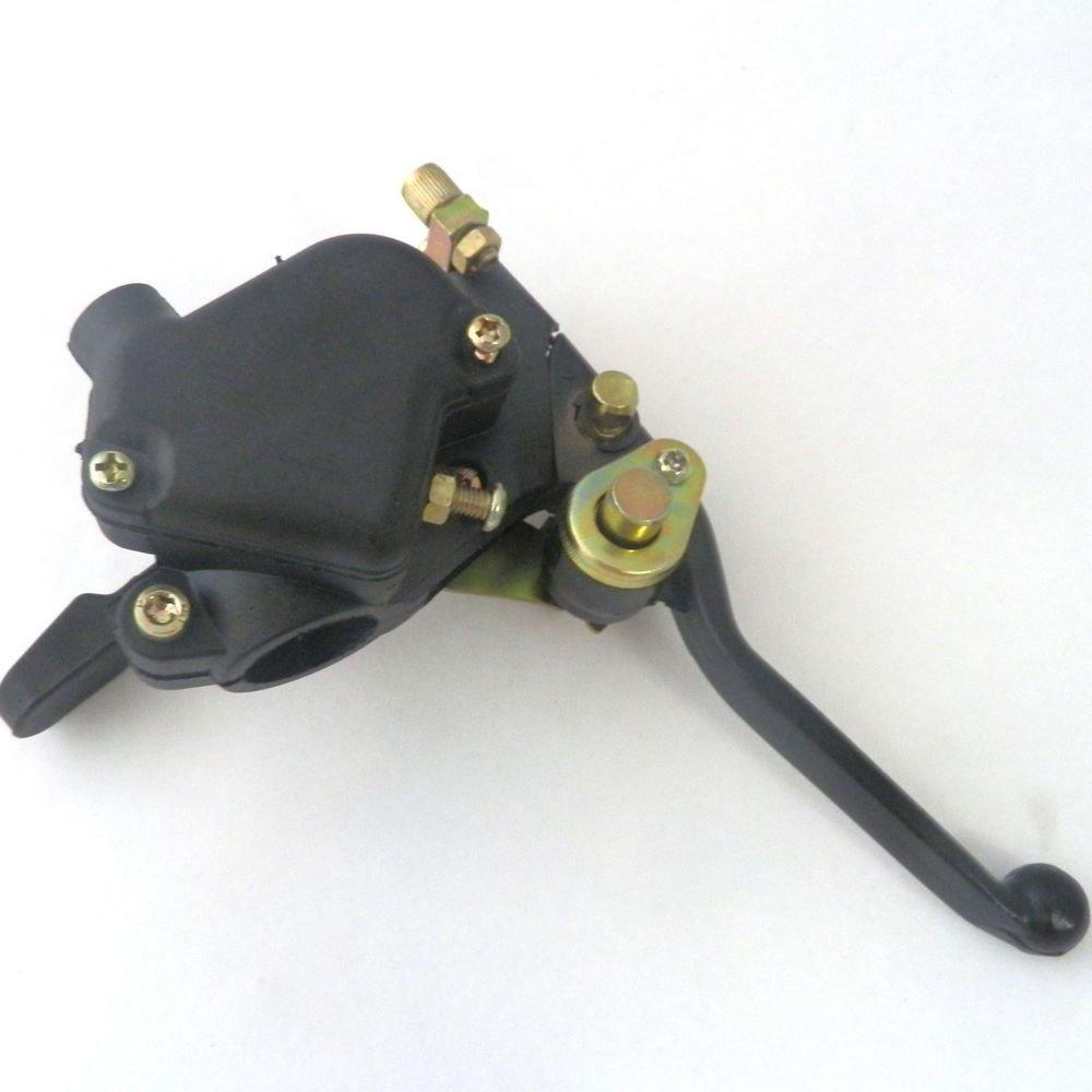 yunshuo pulgar del acelerador palanca de Cable doble para Mini 47 cc 49 cc 2 tiempos niñ os bolsillo Quad