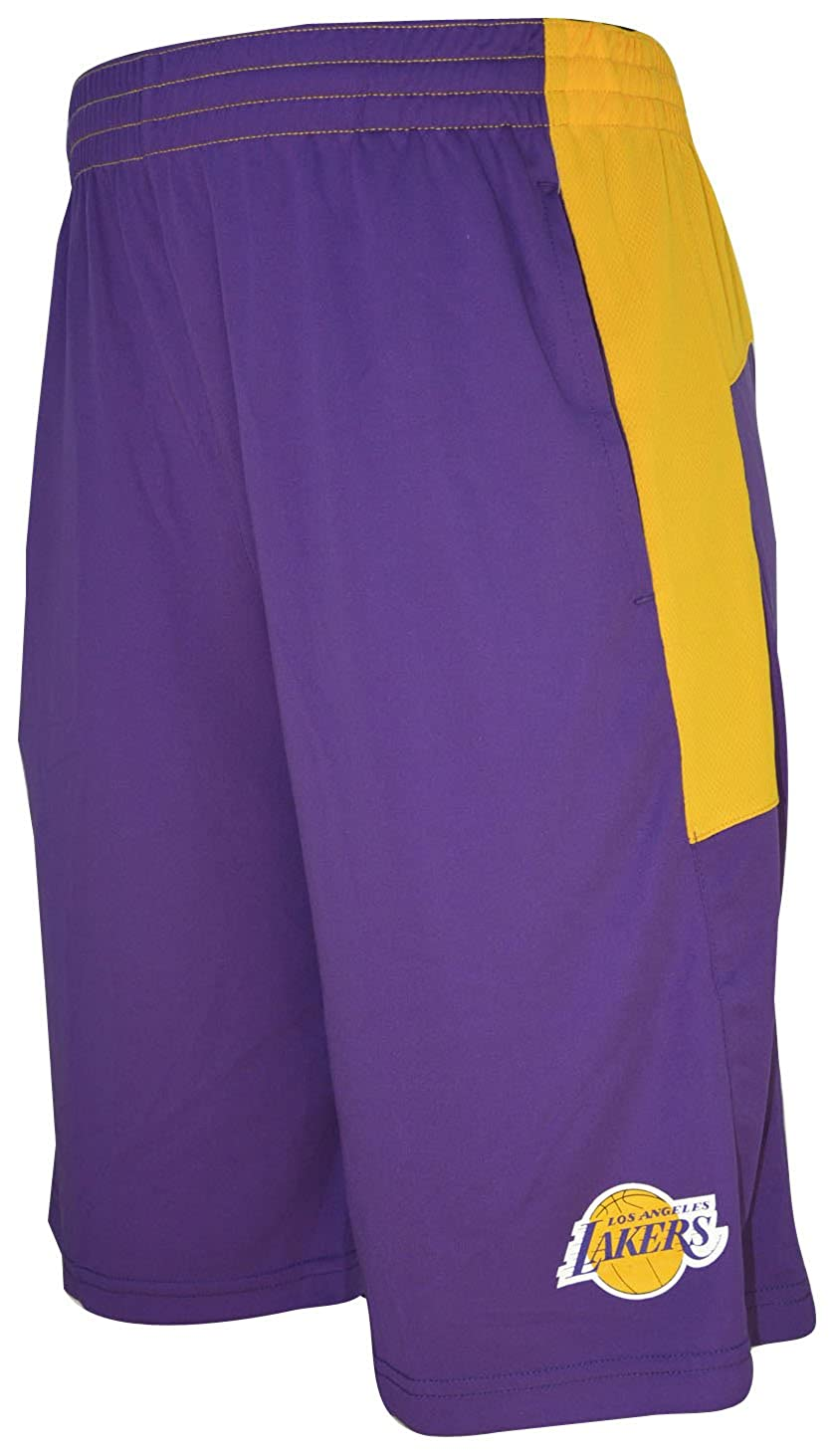 a7306b7c5f942 Amazon.com: Outerstuff Los Angeles Lakers NBA Youth Jersey Shorts: Clothing