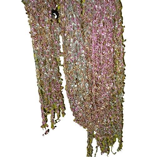 GRAND PASHMINAS ETOLES MODE MADE IN BELGIUM (pearl multicolor)