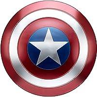 SK MISS Escudo Capitan America Metal Adulto1 à 1 Disfraz Accesorios de Cosplay 47,5 CM para decoración (A)