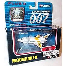 corgi james bond 007 moonraker space shuttle car and data cards set 1.43 scale diecast model by Corgi