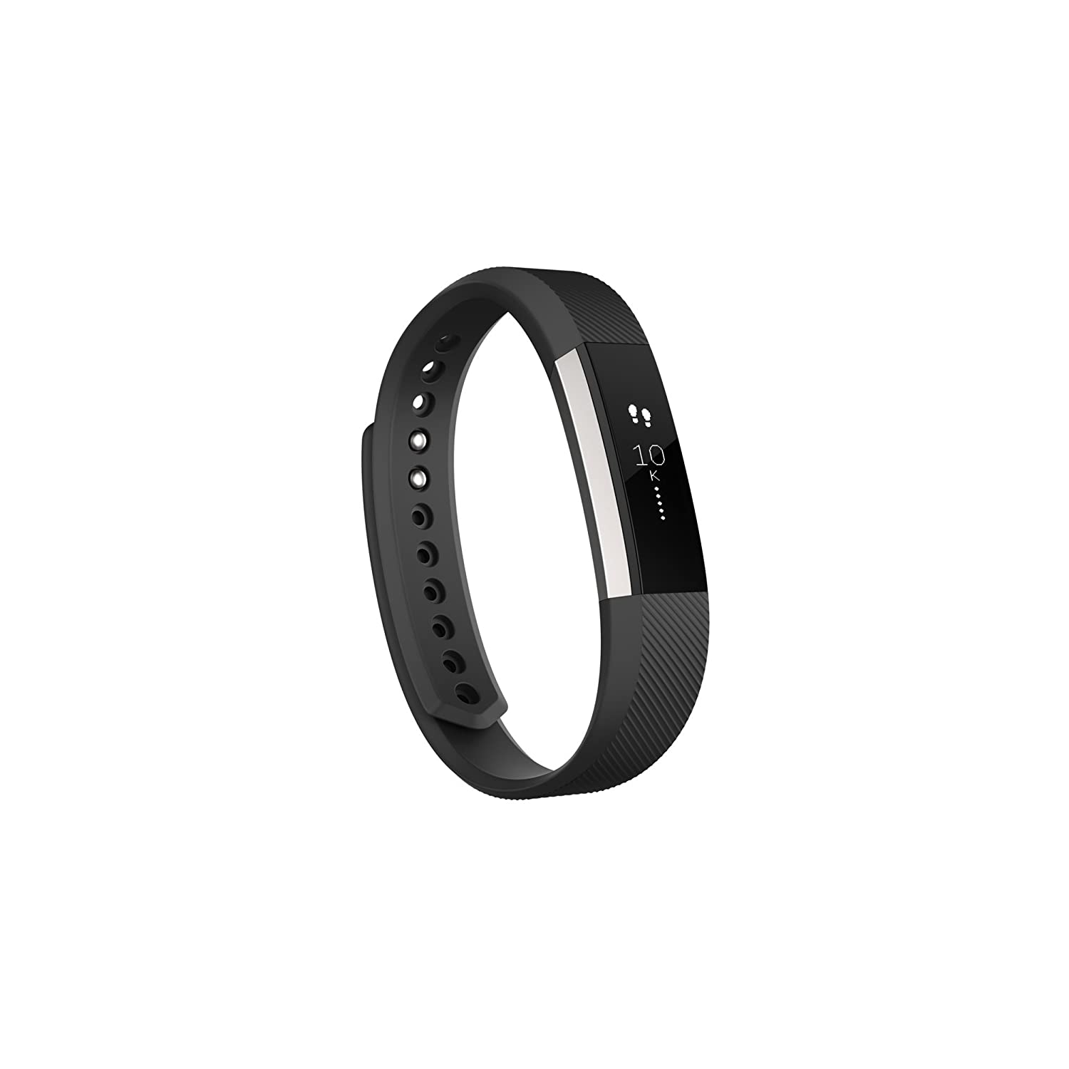 Fitbit Alta Wireless Activity and Fitness Tracker Smart Wristband, Black, Large (6.7-8.1 in) (Certified Refurbished) FB406BKL-EU-cr