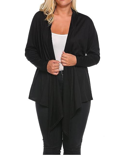 Amazon.com: Yummy Plus de la mujer Plus tamaño Color Sólido ...
