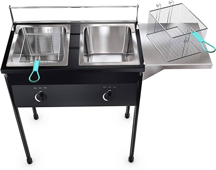 Top 10 Commercial Propane Deep Fryer