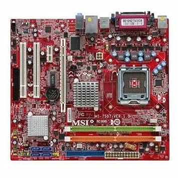MSI MS 7507 LAN DRIVER DOWNLOAD