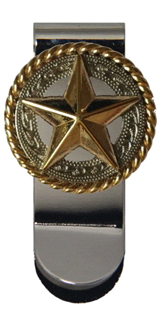 Custom Fancy Gold Star Money Clip
