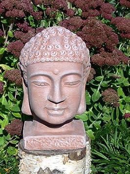 Gardens2you Décoration de jardin Bouddha Pierre en Fonte Couleur ...