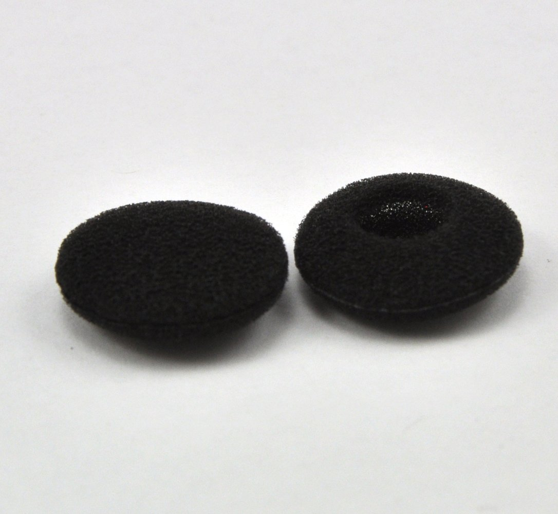 Espuma Earbud Earpad Cubiertas de Esponja de Repuesto para Auriculares 12 Paquetes 24 Piezas