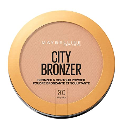 Maybelline MAY FS CITY BRONZE PWD NU 200 MEDIUM CO polvo facial 1 Colores - Polvos