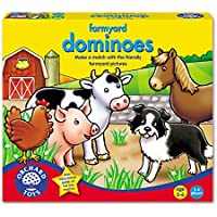 Orchard Toys Matching Game - Farmyard Dominoes