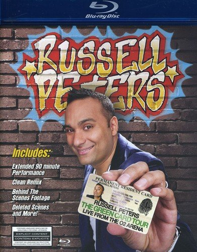 Blu-ray : Russell Peters - Green Card Tour: Live From The O2 Arena (Blu-ray)