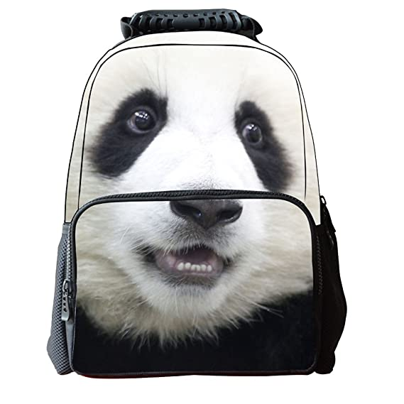 Amazon.com | JJ Store Fashion Unisex Casual School Cute Backpack Bags 3D Animal Print Polyester Schoolbag Panther1 | Backpacks