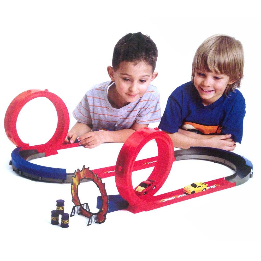 S P Toys Pista Larga Velocidad Con Con Con 2 Co b1538d