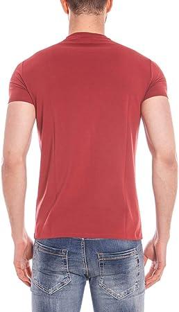 Armani JEANS AJ - Camiseta para hombre C6H01DA, color rojo