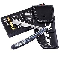 Tradicional Afeitar Navaja recta para afeitado de afeitar de barbero Plegable