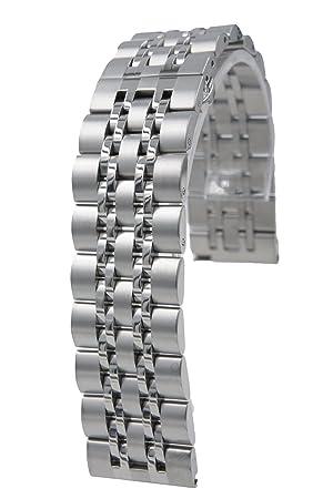 ccessory 22mm Acero Inoxidable Correa de Reloj Banda reemplazo ...