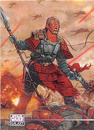 Exar Kun Trading Card Star Wars Galaxy 1995  325