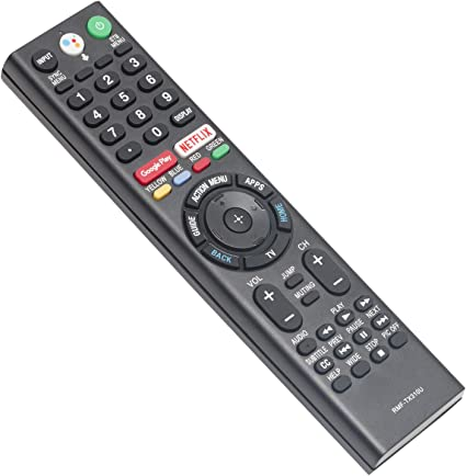 New RMF-TX310U Voice Mic Replace Remote fit for Sony Bravia TV XBR-65X800G XBR-43X800G XBR-65X900F XBR-85X850F XBR-75X800G XBR-49X800G XBR-65X850F XBR-75X900F XBR-85X900F XBR-55X900F XBR-49X900F
