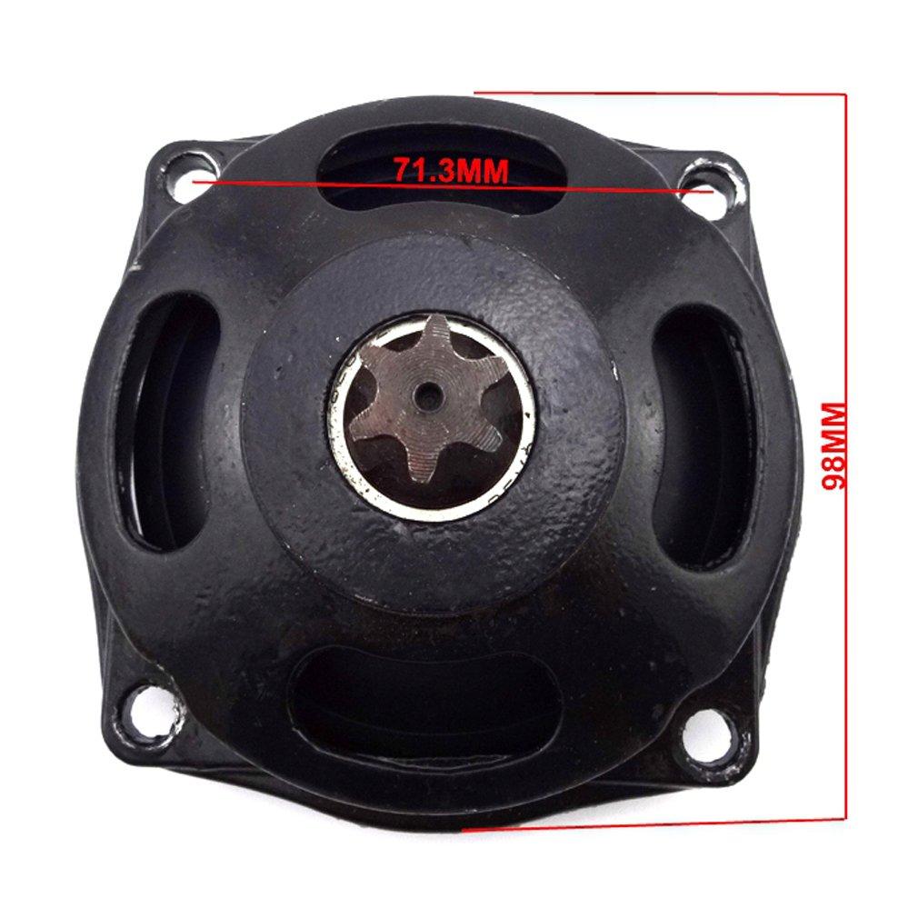 TC-Motor T8F 116 Links Chain T8F 6 Tooth Gear Box 54T Rear Chain Sprocket For 47cc 49cc Mini Pocket Bike Mini Moto