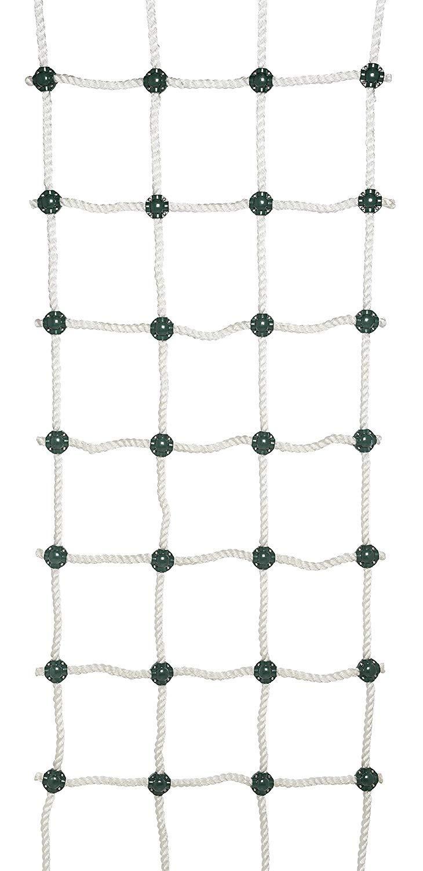 "Safe-Kidz™ Cargo Climbing Net, 100% Polyester Rope Ladder, 96"" L x 30"" W + Drill Bit & Instructions"