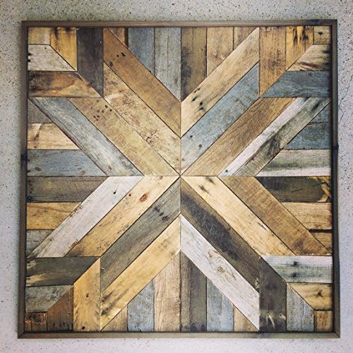 reclaimed wood wall art reclaimed barnwood art buy With cost of reclaimed barn wood