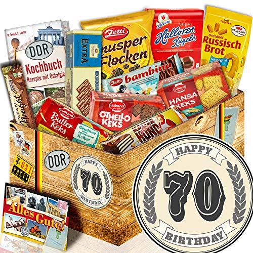Geschenk Keks / DDR Box / Geschenk 70. Geburtstag / 70 Geburtstag Geschenke Mann