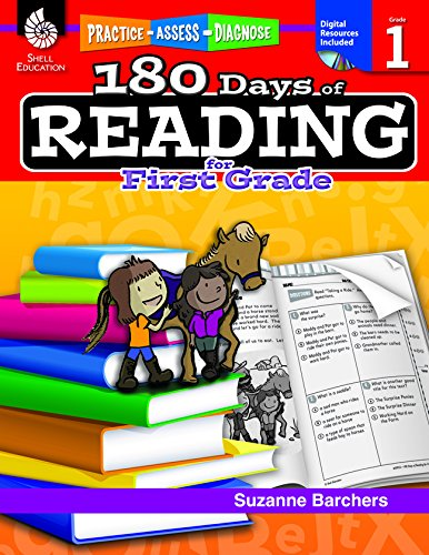 Price comparison product image 180 Days of Reading for First Grade (180 Days of Practice)