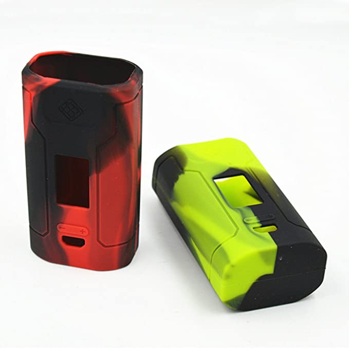 Cubierta protectora de silicona para el Kit Wismec Predator 228W Box Mod. Nero verde: Amazon.es: Electrónica
