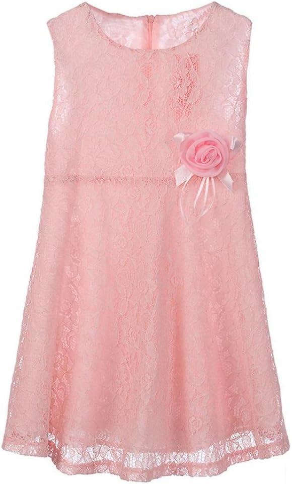 Girls Kids Lace Floral One Piece Dress Child Princess Party Dress Princess Dress
