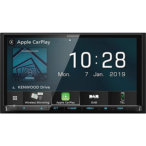 """Kenwood DMX-7017DABS Kenwood double din Android Auto Apple CarPlay 7/"""" screen"""