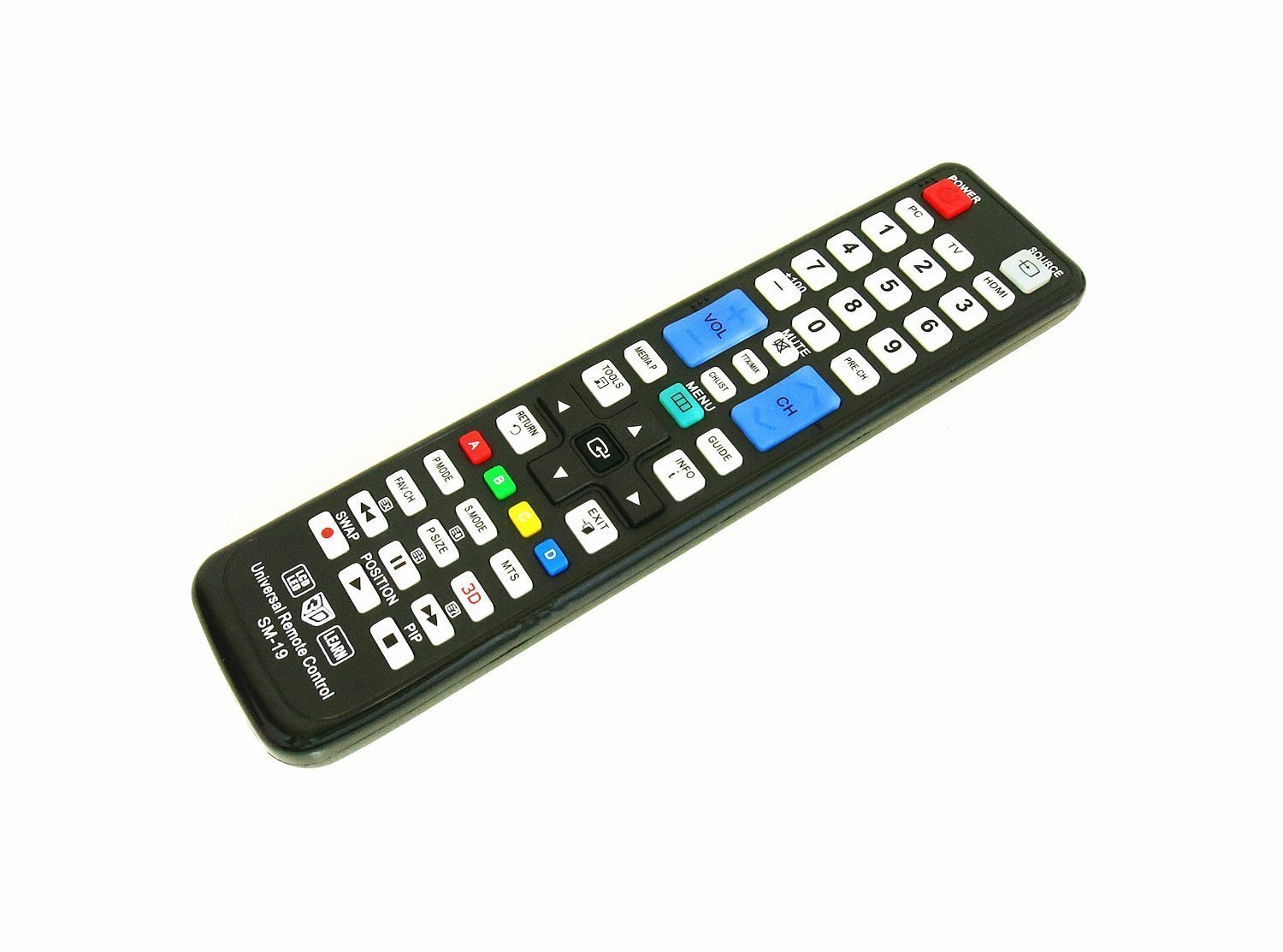 New Samasung BN59-00996A Universal Remote Control for All Samsung BRAND TV, Smart TV - 1 Year Warranty(SM-19+AL) by Nettech