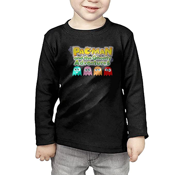 717ccb3b Bilibli Pacman And The Ghost Long Sleeves For Kids Black: Amazon.ca ...