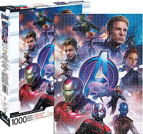 Aquarius Marvel Avengers End Game 1000 Pc Puzzle, Multi Color (Best Marvel Games For Pc)