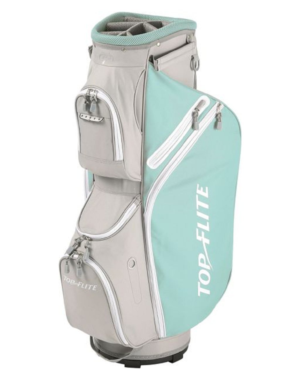 Top Flite Women's 2018 Lightweight Cart Golf Bag Mint Gray by Top Flight