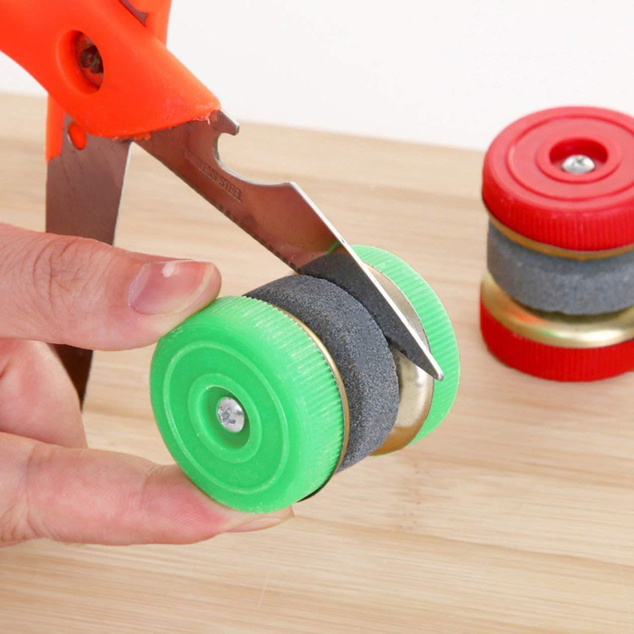 BIYI Mini affilacoltelli Mole tonde per affilare Pietra per affilare Utensili da Cucina Accessori per Utensili da Cucina Casuali