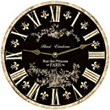 Black French Clock (23'')