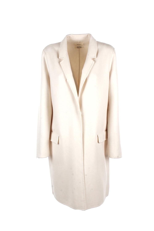 VICOLO Cappotto Donna L Bianco Ti0006 Autunno Inverno 2017/18