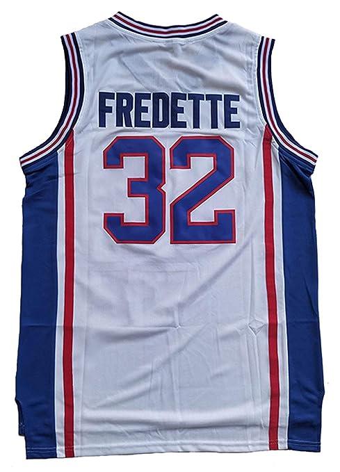 85c5b2da0da0 Amazon.com   32 Jimmer Fredette Shanghai Sharks Basketball Jersey Men  White  Clothing