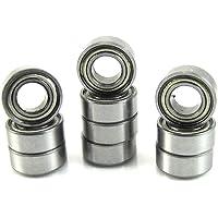 10pcs MR105 MR105ZZ Rodamientos miniatura de bolas Mini