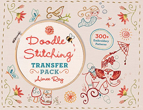 Doodle Stitching Transfer Pack (Book Embroidery)
