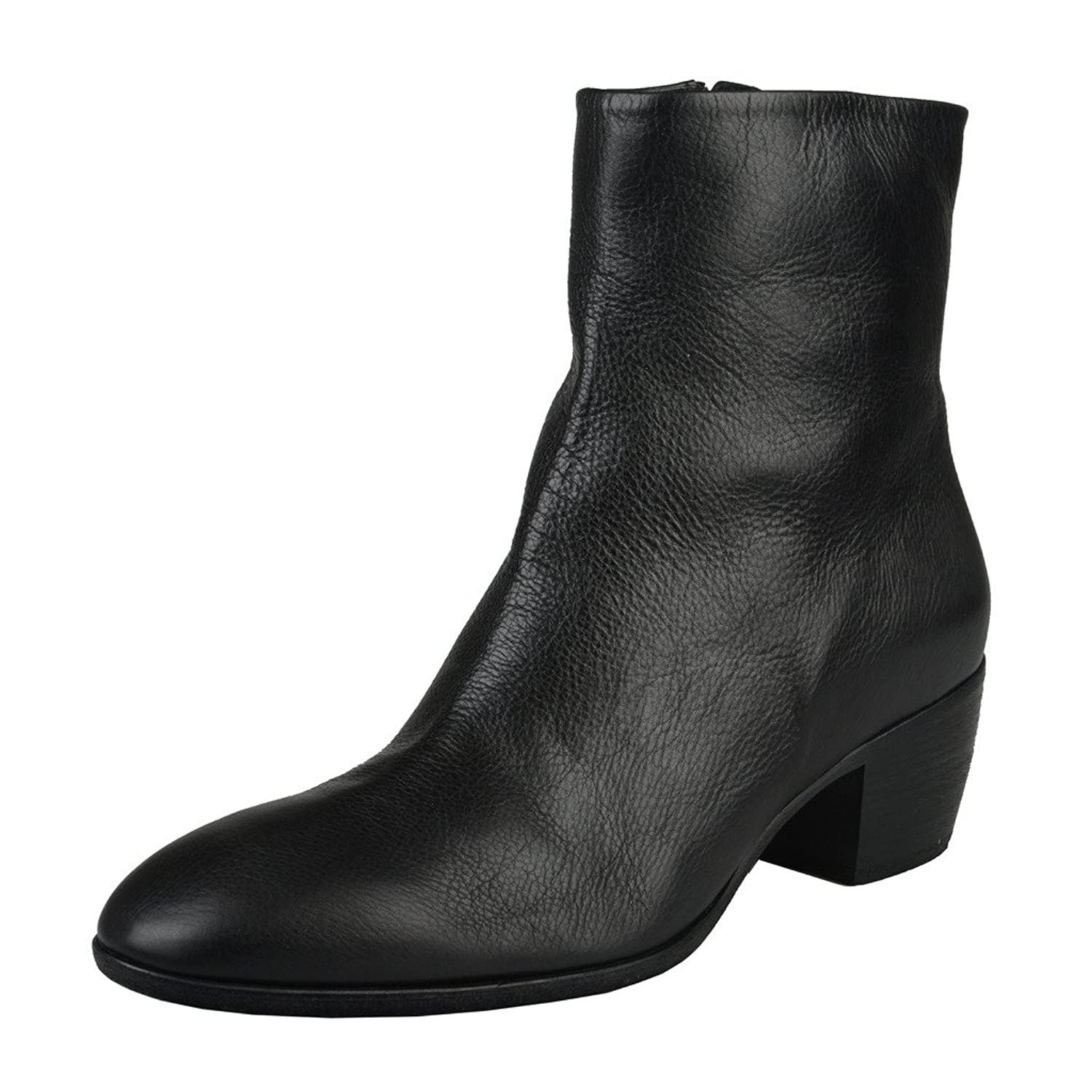 Giuseppe Zanotti Homme Men's Black Leather Ankle Boots Shoes US 11 IT 44;